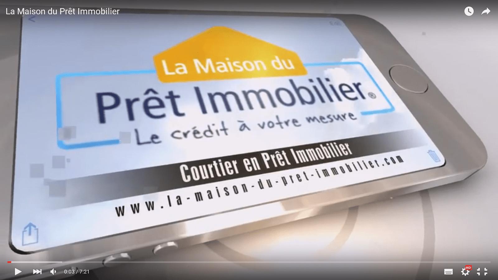 Présentation de La Maison du Prêt Immobilier en vidéo