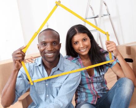 Couple primo-accédants nouvelle maison